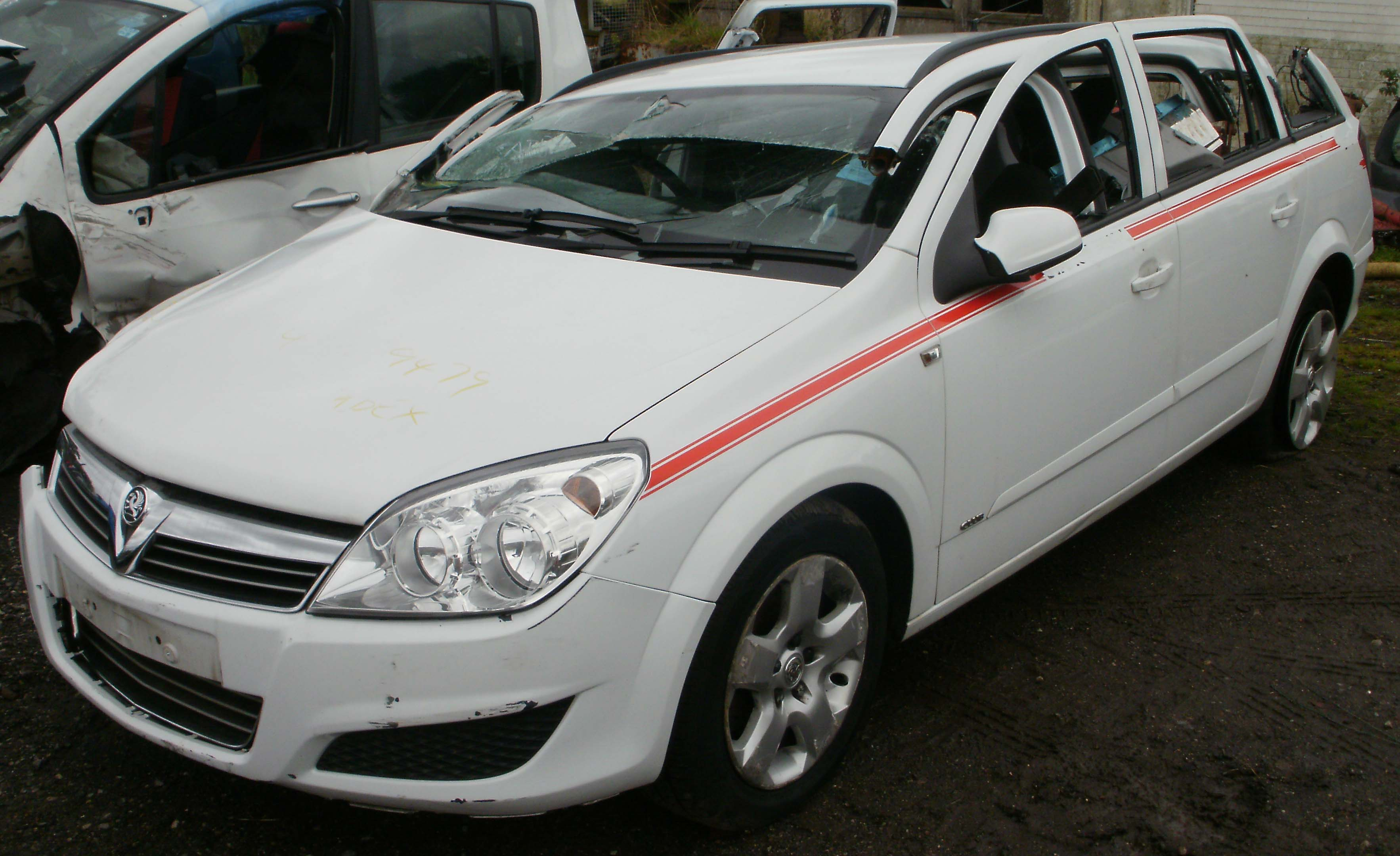 2007 vauxhall astra club 1 7 cdti breaking now melbourne autos. Black Bedroom Furniture Sets. Home Design Ideas