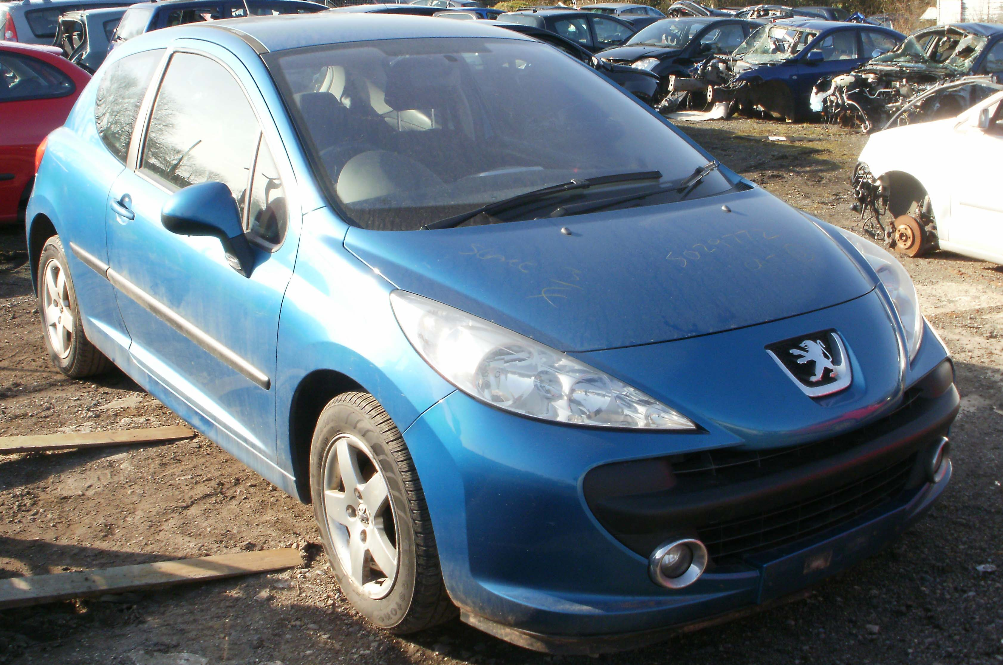 2007 peugeot 207 1 4 16v sport 87 breaking now. Black Bedroom Furniture Sets. Home Design Ideas