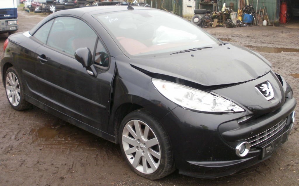 2007 peugeot 207 gt cc 1 6 16v vti auto breaking now parts for sale melbourne autos. Black Bedroom Furniture Sets. Home Design Ideas
