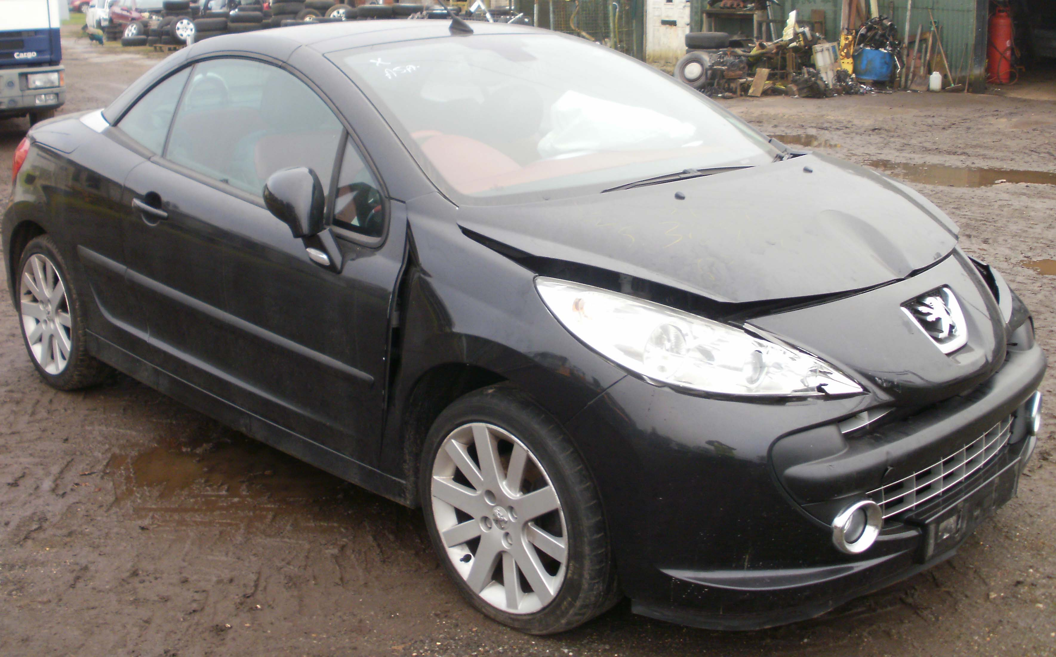 2007 peugeot 207 gt cc 1 6 16v vti auto breaking now. Black Bedroom Furniture Sets. Home Design Ideas
