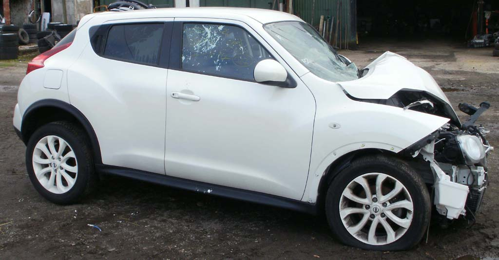 2013 nissan juke acenta premium 1 5 dci breaking now melbourne autos. Black Bedroom Furniture Sets. Home Design Ideas