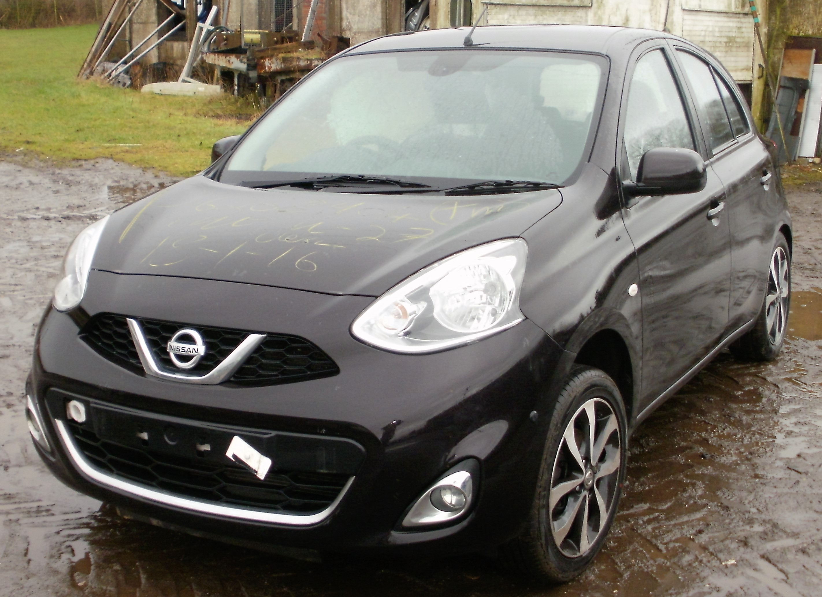 2013 nissan micra tekna 1 2 dig s breaking now melbourne autos. Black Bedroom Furniture Sets. Home Design Ideas